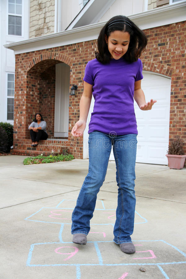 Download Hopscotch Royalty Free Stock Photography - Image: 22812037