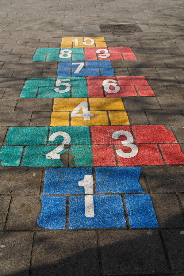 Download Hopscotch Royalty Free Stock Images - Image: 24581309