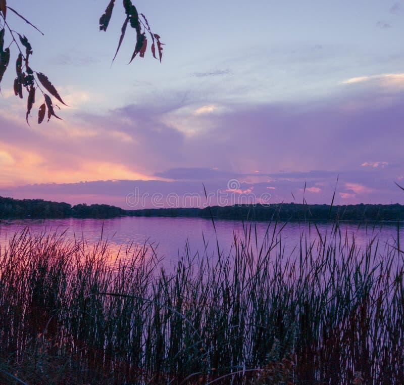 Horário do Sunset Dreamy fotografia de stock royalty free