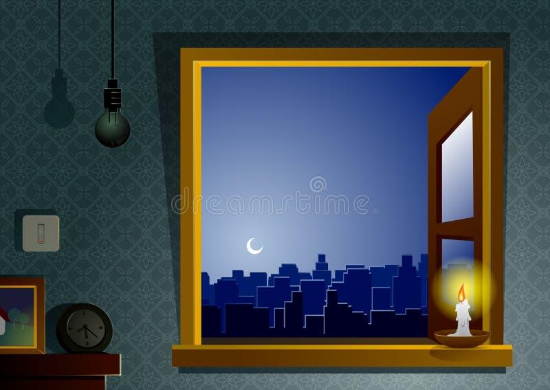 Hora da terra ilustração royalty free