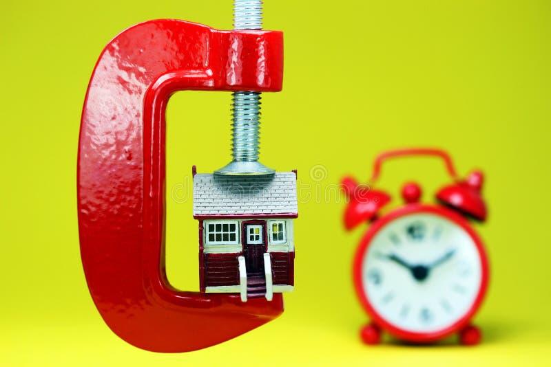 Hora de comprar uma casa fotos de stock royalty free