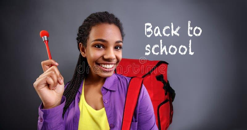 Hora de retornar de volta à escola fotos de stock royalty free