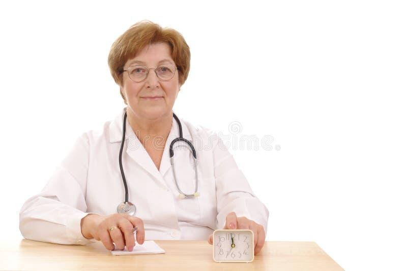 Hora de tomar de sua saúde fotos de stock