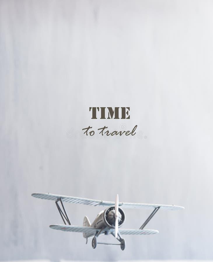 Hora de viajar ideia imagem de stock