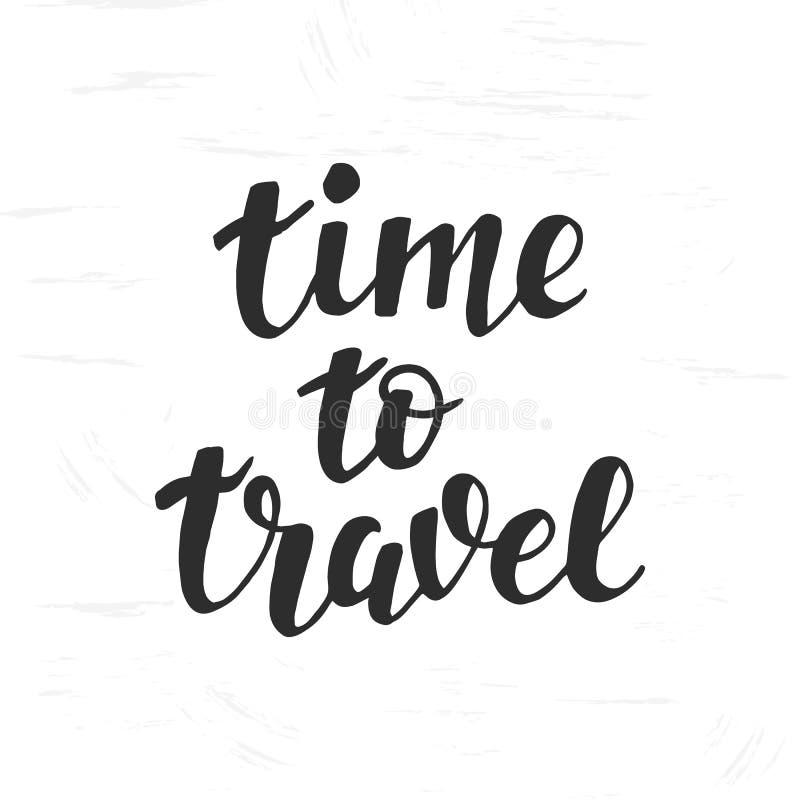 Hora De Viajar Letras De La Mano, Cita De La Inspiración