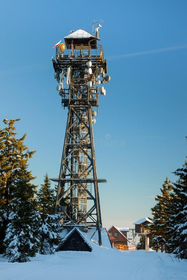 Hora di Cerna della torre immagini stock