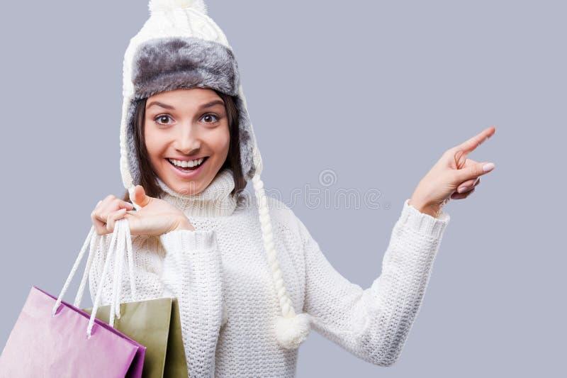 Hora increíble para las compras imagen de archivo