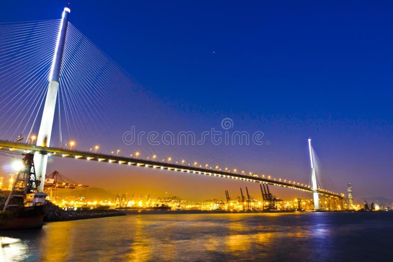 Hora mágica da ponte dos Stonecutters fotos de stock