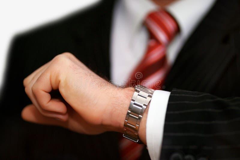 Hora para o negócio foto de stock royalty free