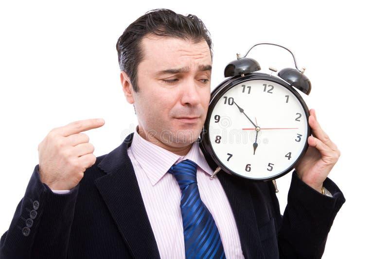 Hora para o negócio imagem de stock royalty free