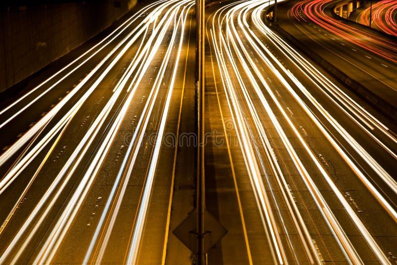 Hora punta del tráfico fotografía de archivo libre de regalías