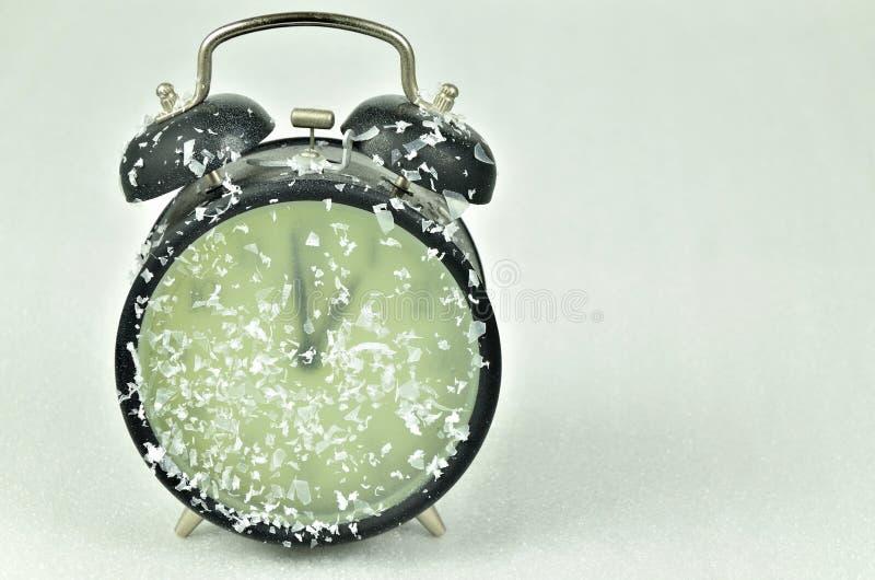 Horaire d'hiver de changement d'horloge photographie stock
