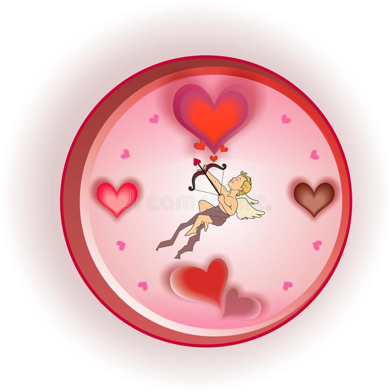 Horas de amor imágenes de archivo libres de regalías