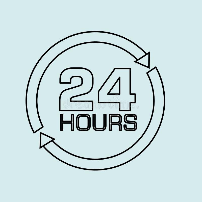 24 horas de diseño libre illustration
