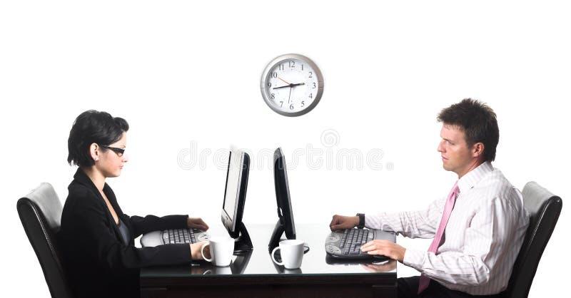 Horas de oficina fotos de archivo