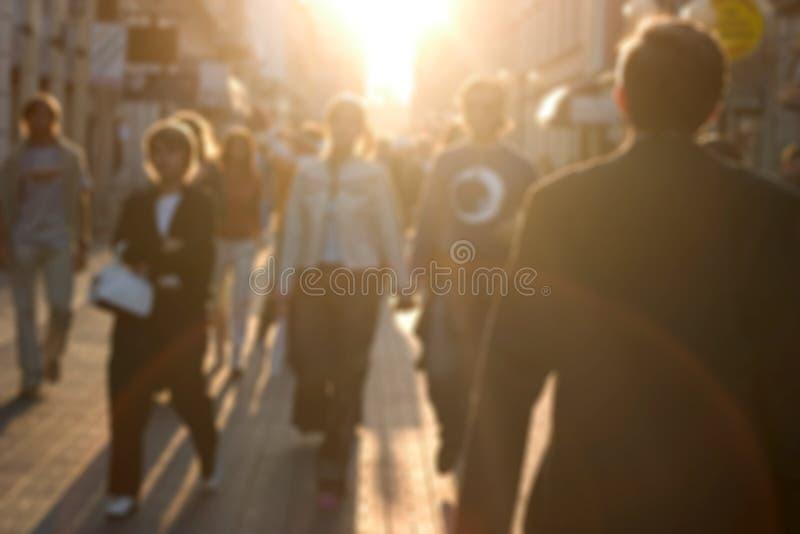 Horas De Ponta Foto de Stock