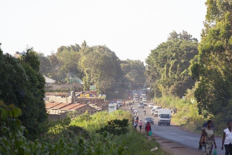 Horas de ponta em Kenya, editorial fotos de stock royalty free