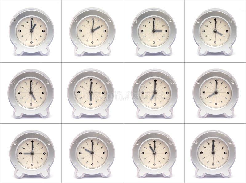 Horas del día imagenes de archivo