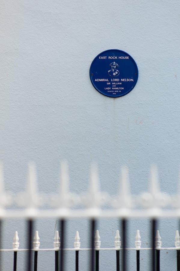 Horatio Nelson fotografía de archivo