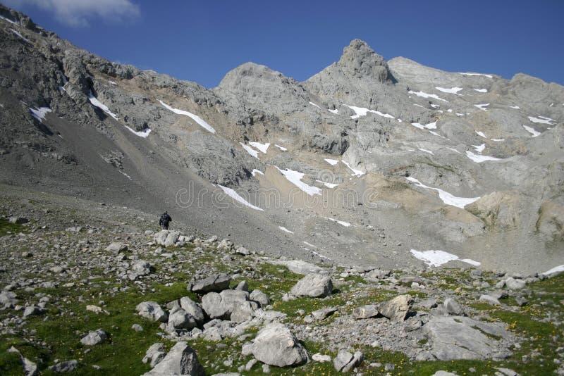 Horcados Rojos, Picos de Europa, Espanha imagem de stock