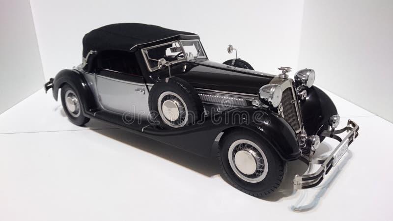 Horch 853 retro klasyk - ciskający szalkowy wzorcowy samochód obrazy royalty free