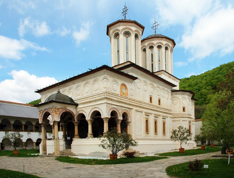 Horezu Monastery stock photography