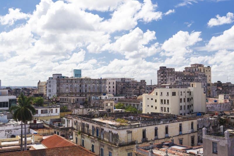Horisont av havannacigarren i Kuba arkivfoto