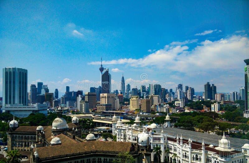 Horisont Malaysia Kuala Lumpur arkivbild