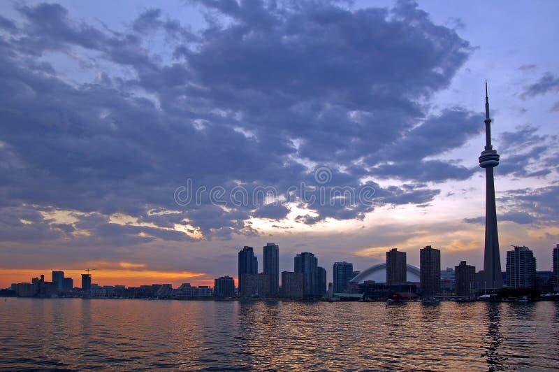 horisont toronto arkivfoto