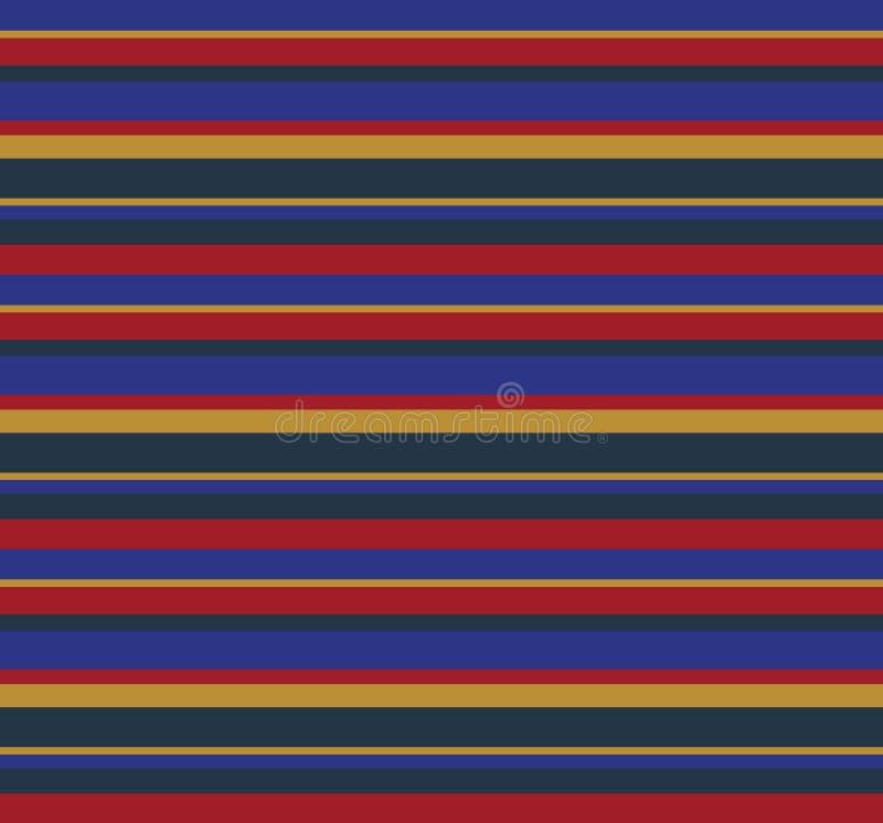 Horisontallinje modell för färgrik 90-tal royaltyfri fotografi