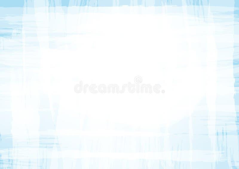 Horisontalrektangulär bakgrund med varva av borsteslaglängder stock illustrationer