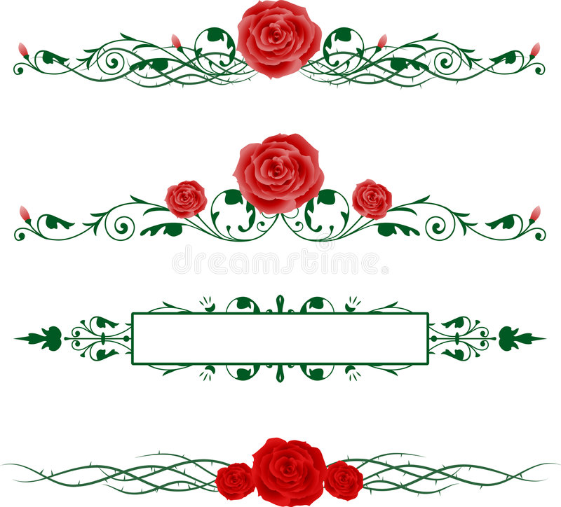 horisontalro royaltyfri foto