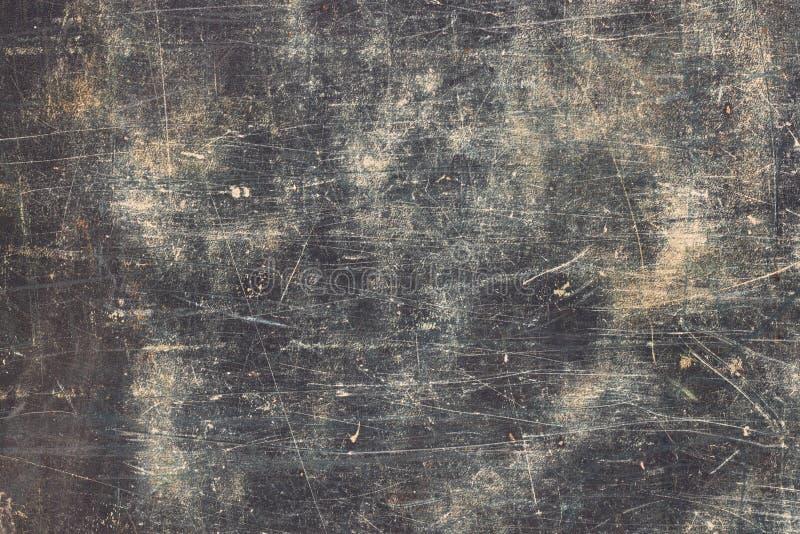 horisontalskrapor för blå grunge arkivbild