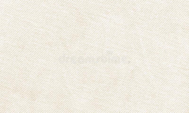 Horisontalvitt kanfasmaterial som ska användas som bakgrund eller textur stock illustrationer