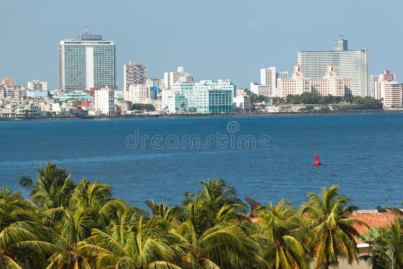 Horisonten av Havana arkivbilder