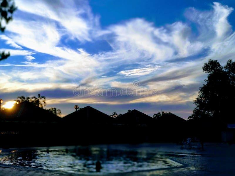 horizon stock afbeelding