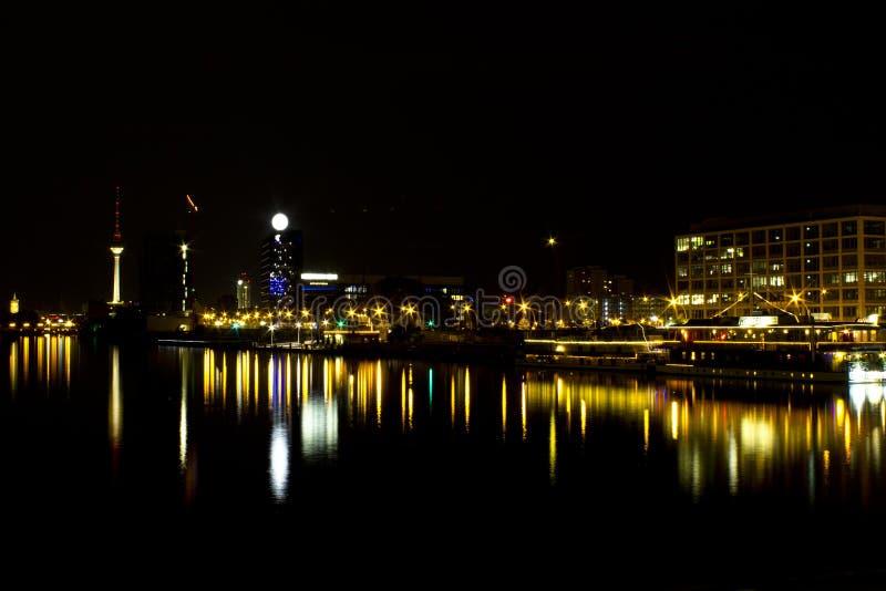 Horizon Berlijn, Duitsland stock fotografie