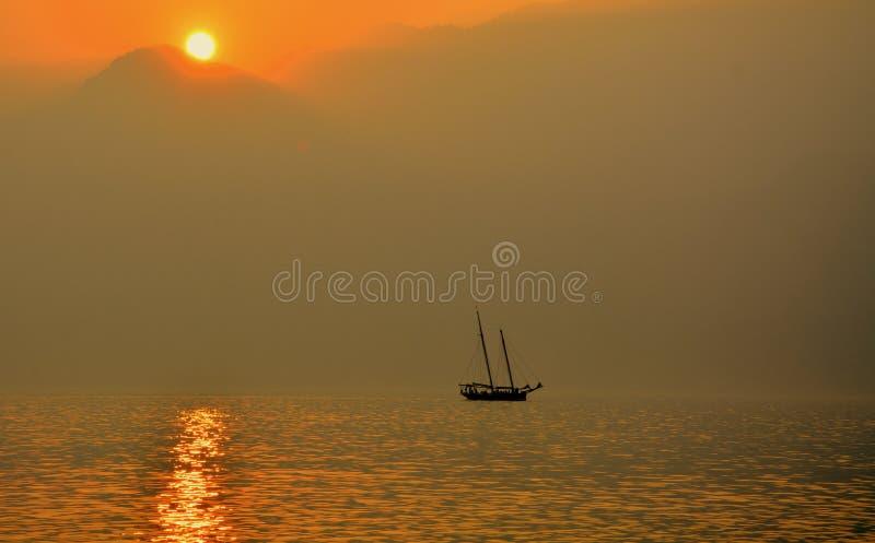 Horizon, Calm, Sunrise, Sea royalty free stock image