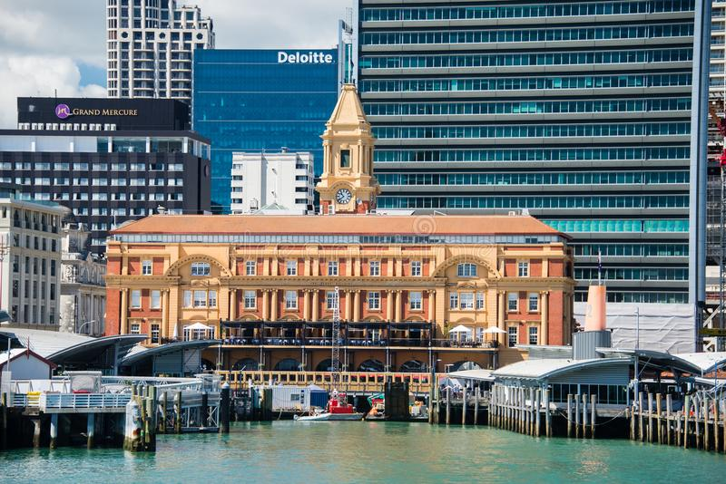 Horizon d'Auckland - 4 photographie stock