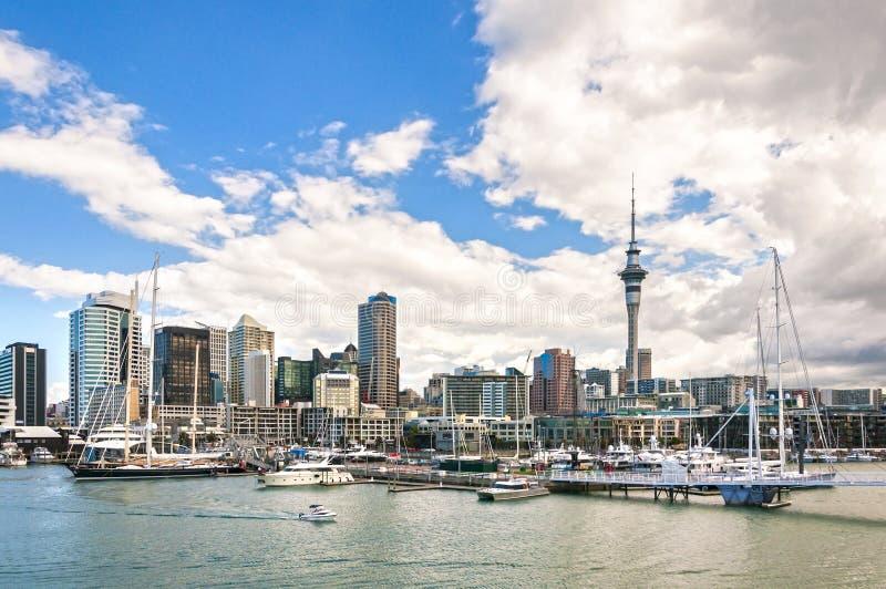 Horizon d'Auckland photos libres de droits