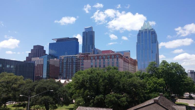 Horizon d'Austin le Texas photo stock