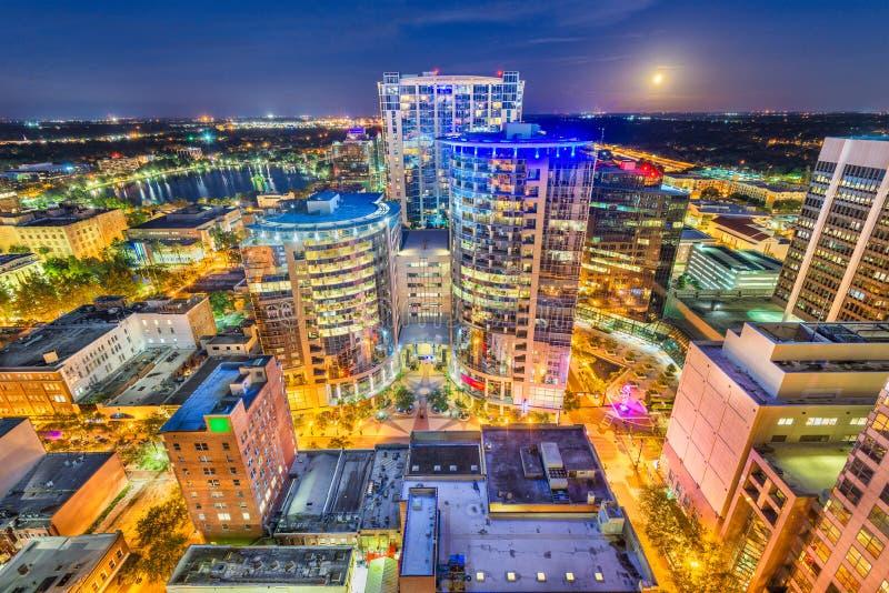 Horizon d'Orlando, la Floride, Etats-Unis photo libre de droits