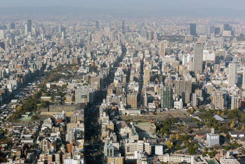 Horizon d'Osaka photo libre de droits