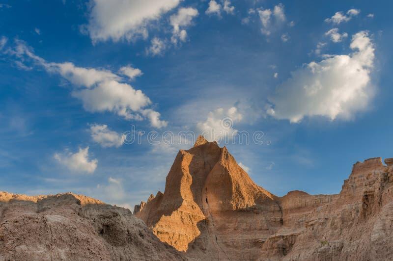Horizon de bad-lands photos libres de droits