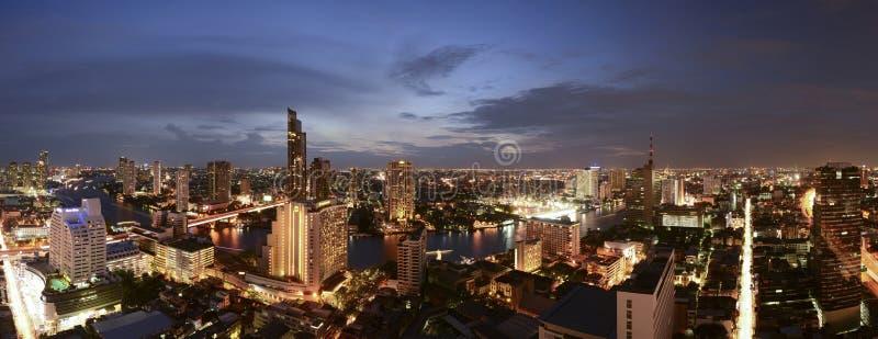 Horizon de Bangkok, Thaïlande Bangkok photographie stock libre de droits