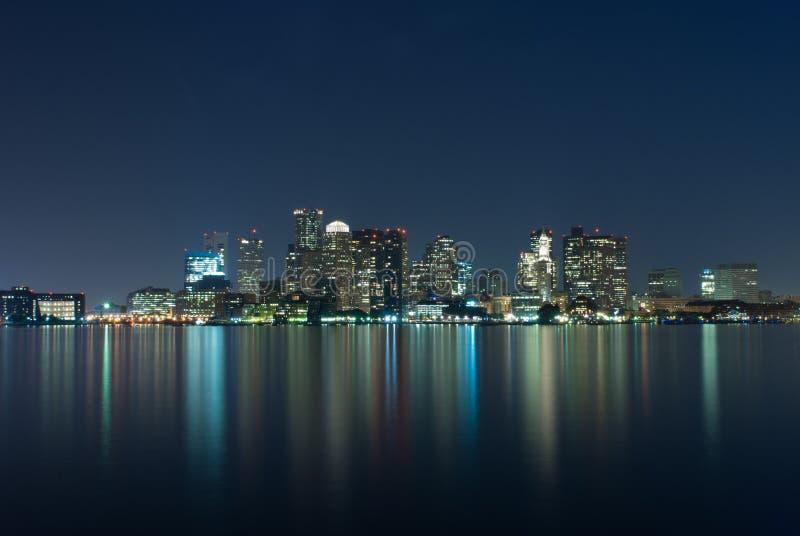 Horizon de Boston photographie stock