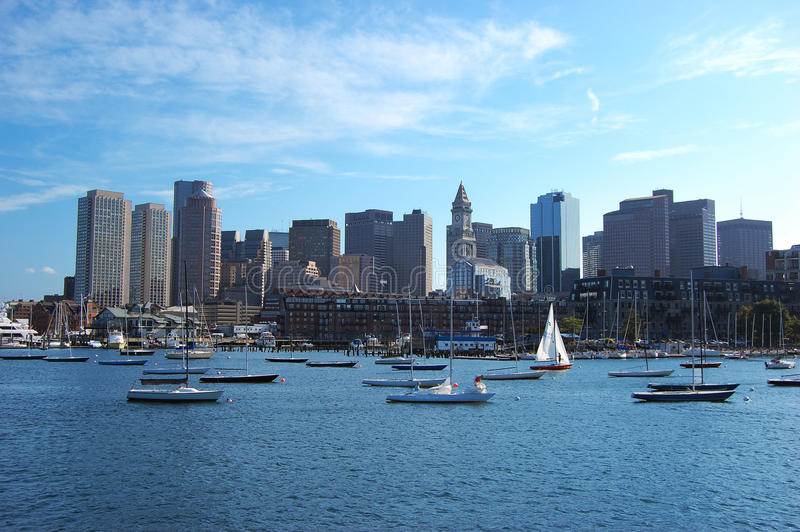 Horizon de Boston images stock