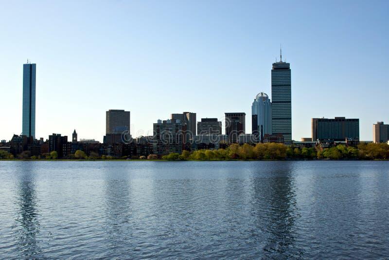 Horizon de Boston images libres de droits
