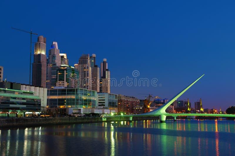 Horizon de Buenos Aires, HDR. photos stock