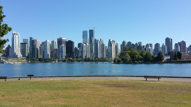 Horizon de Canada de Colombie-Britannique de Vancouver photo stock